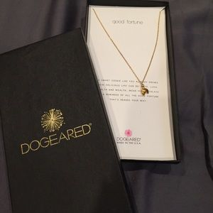 Dogeared Good Fortune Necklace (new in box)